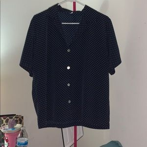 Vintage Women's Button Down Blouse